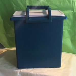 Large Tupperware Container/ Picnic Tote